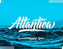 Atlantica - The freestyle lettering type family