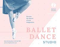 Ballet Studio   Modern and Creative Templates Suite