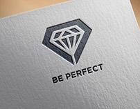 Identyfikacja dla firmy szkoleniowej Be Perfect.