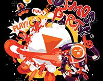 Cosmos Party -土豆网新LOGO插画设计