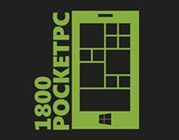 1800PocketPC Logo redesign