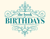 The Book of Birthdays Swatchbook Digital Template