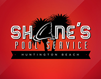 Shane's Pool Service - Branding / Website / Car Wrap
