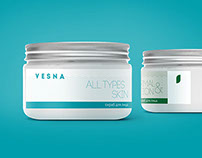 Cosmetics line Vesna