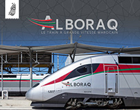ONCF - ALBORAQ LOGO DESIGN FOR HIGH SPEED TRAIN