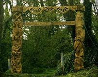 Millenium Gateway Greenfield Valley Holywell Flintshire