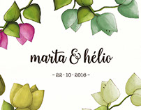 Wedding Invitation · Marta & Hélio