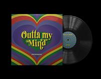 Outta my Mind — Album Cover Redesign & Merch Concept
