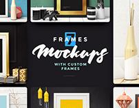 7 Frames Mockups