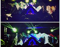 DJ Shadow Scenography / Stage Visuals