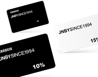 JNBY card