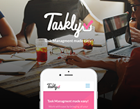 Taskly - Design Concept for Career Foundry