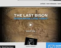 The Last Bison - River Rhine Lyric Video