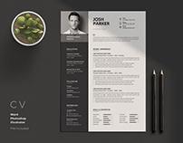 Clean Cv-Resume I Josh
