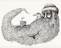 The Old Man and the Sea - Illustration