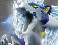 Blizzard Wolfang - Megaman X Tribute Bazil