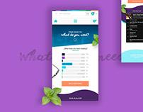 Web Design Prototype