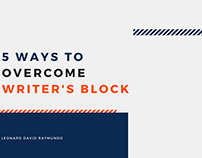 5 Ways to Overcome Writer's Block