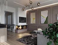 House in Brovary. Design by SDV studio