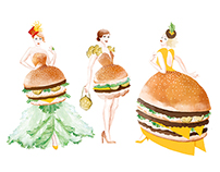 Oscar gowns - Mcdonald's USA 2017