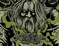 Witchfinder t-shirt design