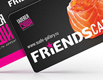 Discount cards design