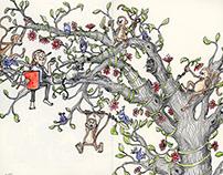 Tree of Life - Moleskine Notebook Illustrations