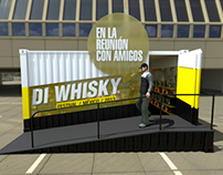 DI Whisky P.O.P.