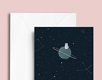OUR SPACE - YCN UK Greetings Stationery Set