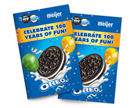 Oreo 100th Birthday Recipe Booklet