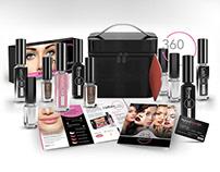 NaturalGlam360 Cosmetics Branding / Packaging
