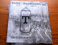 Take it Personal Issue No. 1