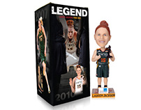 Seattle Storm: 2011 Bobbleheads Boxes