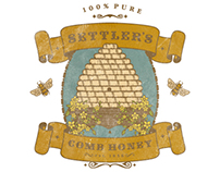 SETTLER'S COMB HONEY