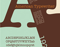 Type History Poster