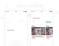 Personal Assistant App UI