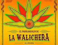 Poster para La Walichera en Club Paraguay
