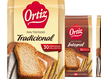 Pan tostado Ortiz