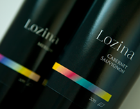 Wine label design: Lozina