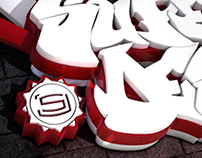 SJ 3D graffiti