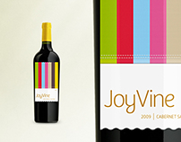 JoyVine Wine Label