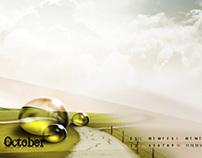 Desktop wallpaper October 2011