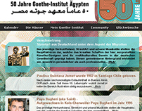 Goethe-Institut 50 Years Anniversary in Egypt