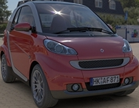 Smart fortwo - Rendering