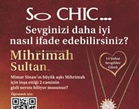 So CHIC Valentine's Day Magazine Advertisement
