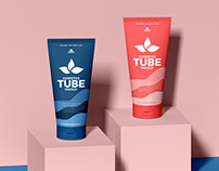 Free Cosmetic Tubes Mockup