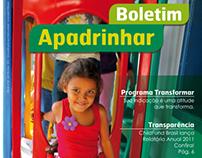 Boletim Apadrinhar - 2º Semestre de 2012
