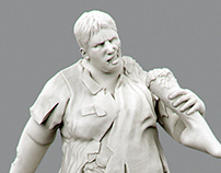 Zombie Jared 1/35 scale collectible