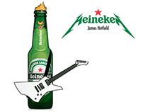 Heineken + Metallica