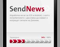 Mobile application - Dnevnik L!VE